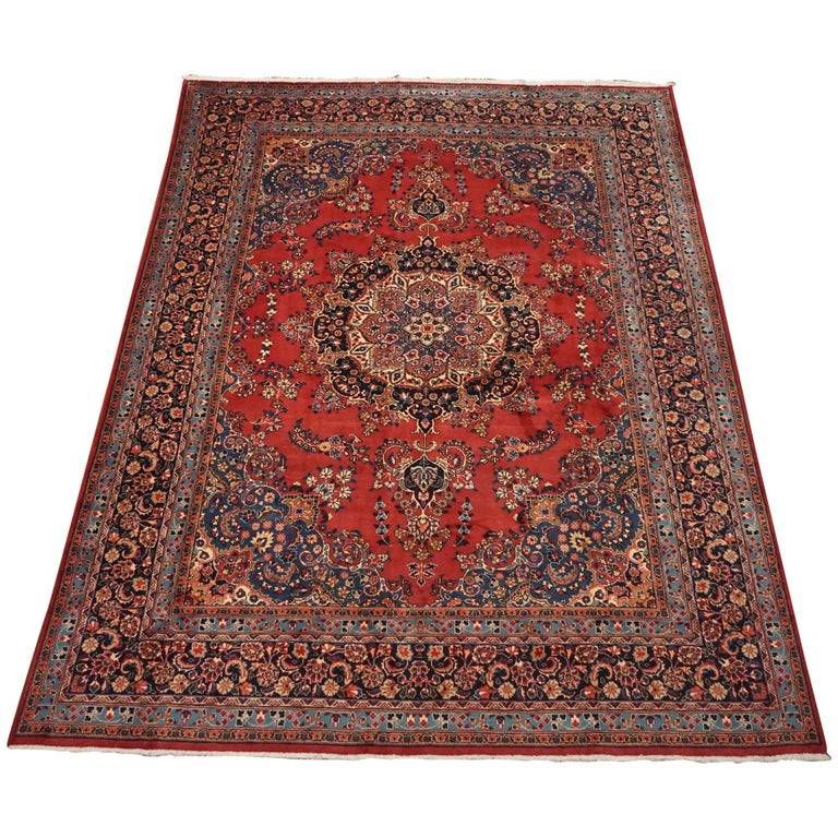 Vintage Persian Tabriz Rug, Circa 1960 For Sale At 1stdibs