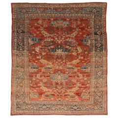 Vintage Persian Tribal Bakshaish Rug