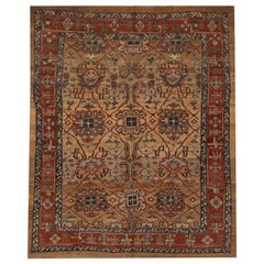 Vintage Persian Tribal Bakshaish Wool Rug