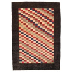 Vintage Persian Tribal Gabbeh Rug