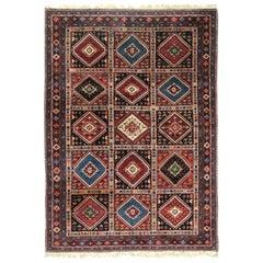 Vintage Persian Yalameh Shiraz Rug