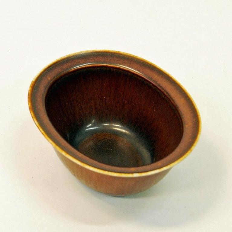 Swedish Vintage Petite Ceramic Bowl by Gunnar Nylund, 1950s Rörstrand, Sweden For Sale