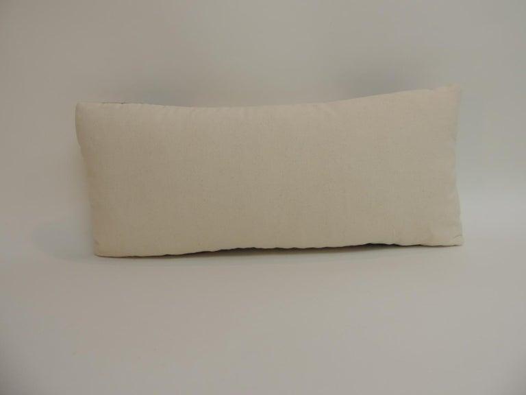 Navajo Vintage Petite Southwestern Woven Wool Decorative Lumbar Pillow