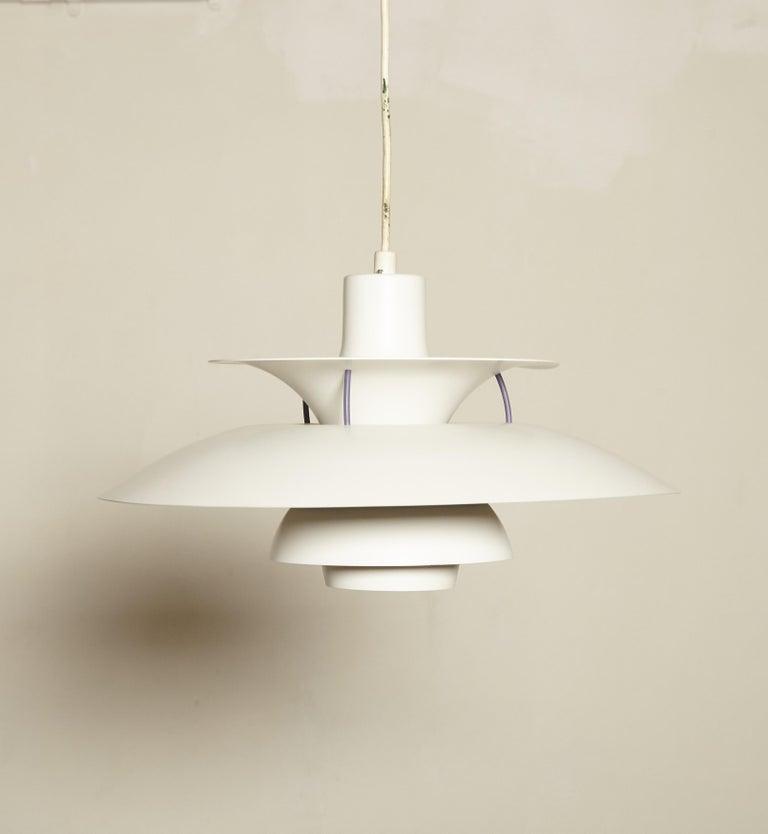 Scandinavian Modern Vintage PH5 Pendant Lamp by Poul Henningsen for Louis Poulsen, Denmark For Sale