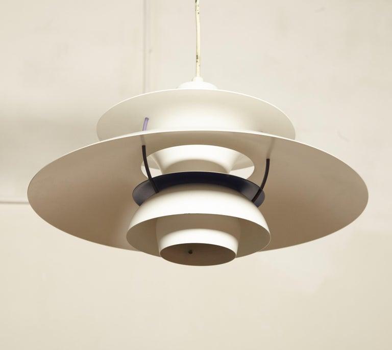 Danish Vintage PH5 Pendant Lamp by Poul Henningsen for Louis Poulsen, Denmark For Sale