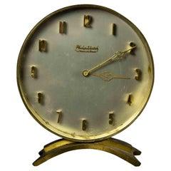 Vintage Philip Watch Table Clock, Half of 20th Century