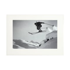 Vintage Photography, Alpine Ski Photograph