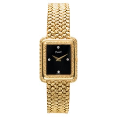 Vintage Piaget 18k Gold Ladies Wristwatch