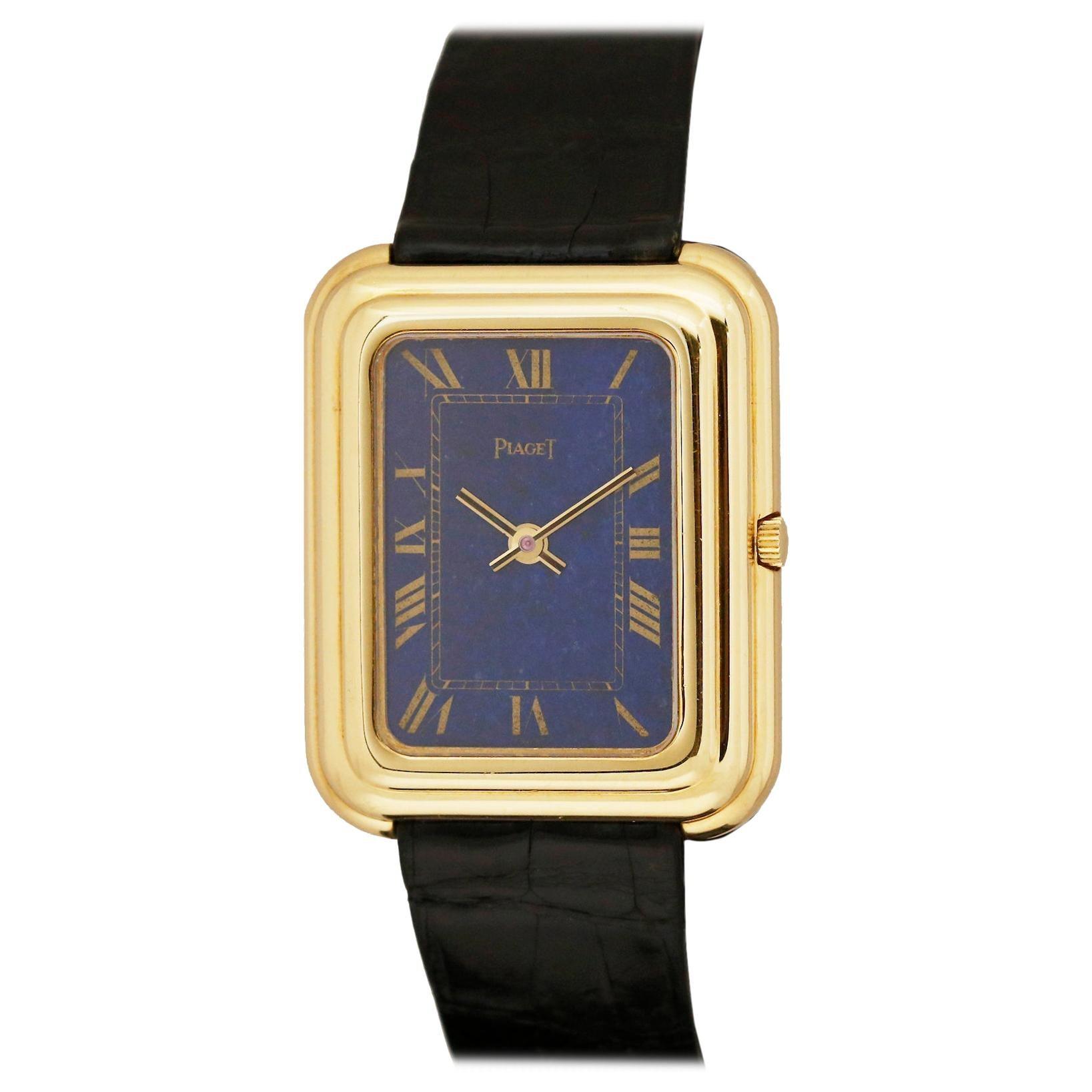 Vintage Piaget 18k Yellow Gold Beta-21 Quartz Wristwatch, Circa 1970s