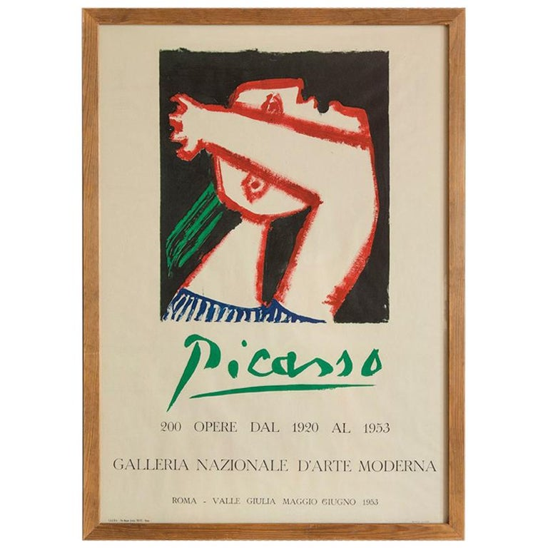 Vintage Picasso Poster For Sale