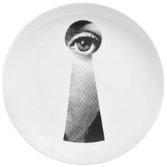 Vintage Piero Fornasetti Display Plate, Barney's New York Collection
