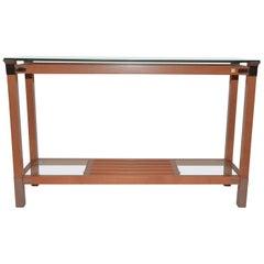 Vintage Pierre Vandel Console Table