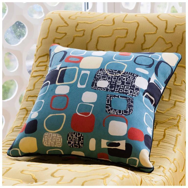 Mid-Century Modern Vintage Pillow