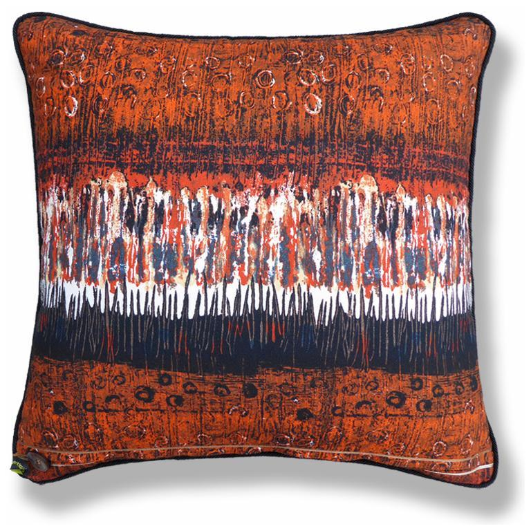 English Vintage Pillow