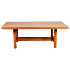 Vintage Pine Borge Mogensen Style Dining Table