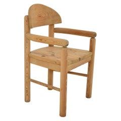 Vintage Pine Carver Chair by Rainer Daumiller, Denmark, 1970