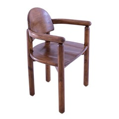 Vintage Pine Carver Dining Chair by Rainer Daumiller, Denmark, 1970