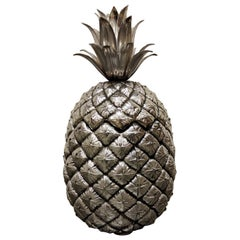 Vintage Pineapple Ice Bucket by Mauro Manetti 1960s