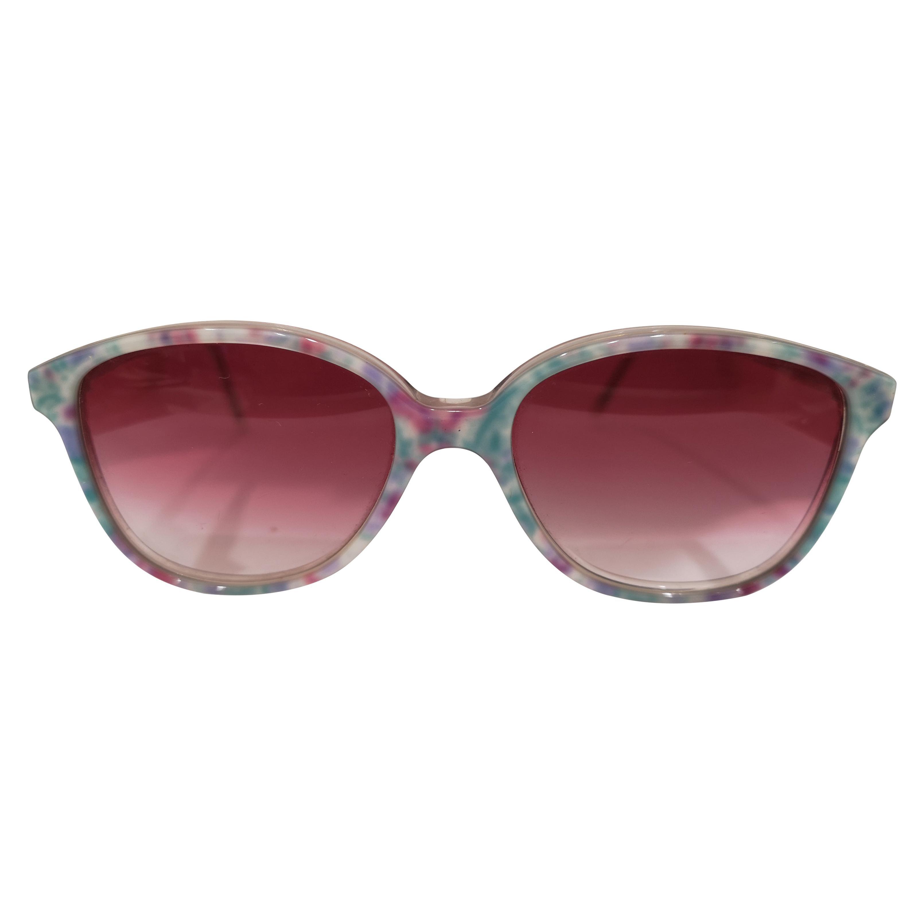 Vintage pink glasses multicoloured sunglasses