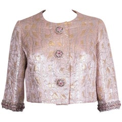 Vintage Pink, Gold and Silver jacket by Neymar Couture