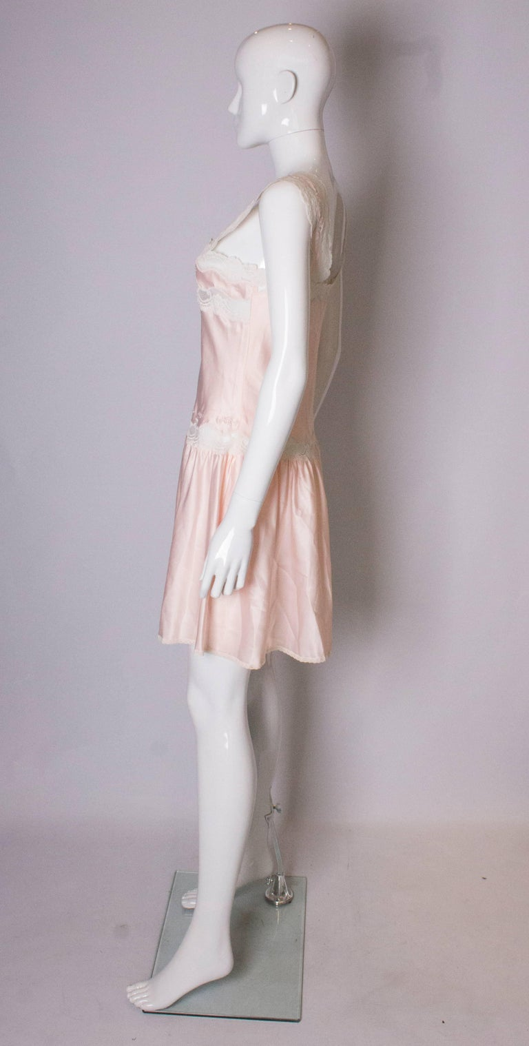 Women's Vintage Pink Nightdress or Dress For Sale