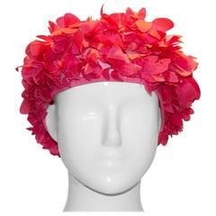 Vintage Pink Petal Hat