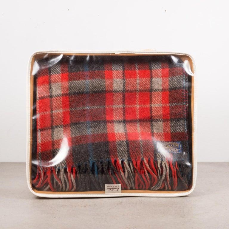 Rustic Vintage Plaid Throw/Blanket by Pendelton Woolen Mills