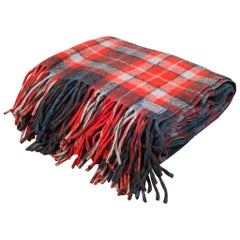 Vintage Plaid Throw/Blanket by Pendelton Woolen Mills