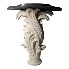 Vintage Plaster Console in manner of Serge Roche