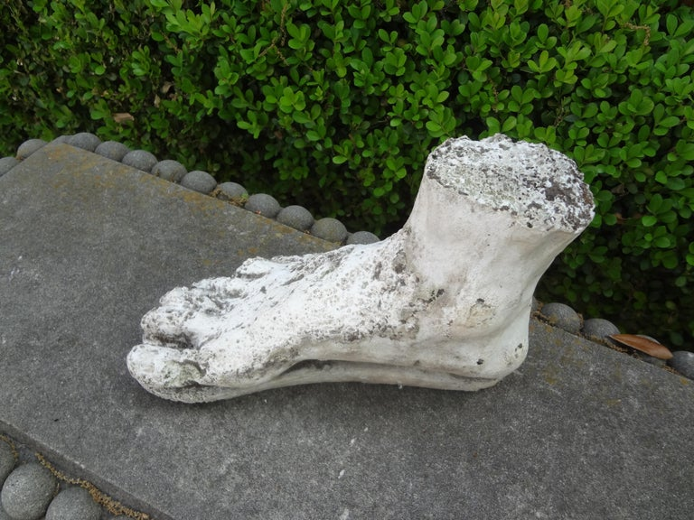 Vintage Plaster Foot of Hercules For Sale 5