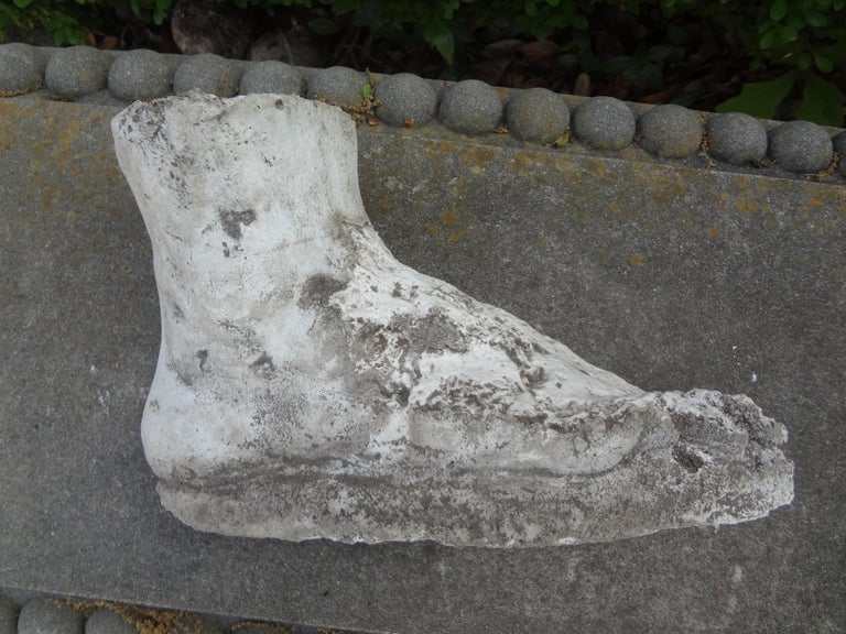 Vintage Plaster Foot of Hercules For Sale 4