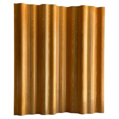 Vintage Plywood Screen or Divider by Charles and Ray Eames