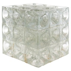 Vintage Poliarte Cube Lamp by Progetto Arte Poli, Italy