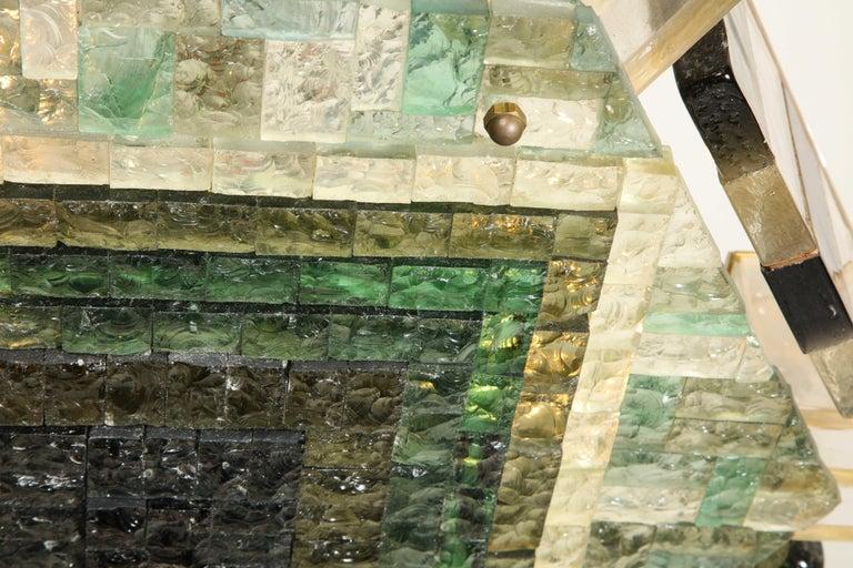 Vintage Poliarte Verona Hexagon Flush-Mount Ceiling Light For Sale 3