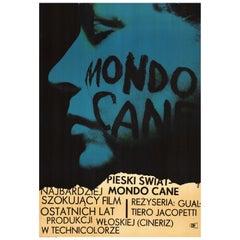 """""""Vintage Polish Mondo Cane"""" Movie Poster by Wojciech Zamecznik for CWF, 1964"""