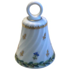 Vintage Porcelain Hand Painted Table Bell