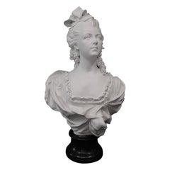 Vintage Porcelain Marie Antoinette Sculpture