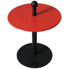 Vintage Postmodern Memphis Style Side Table, 1980s