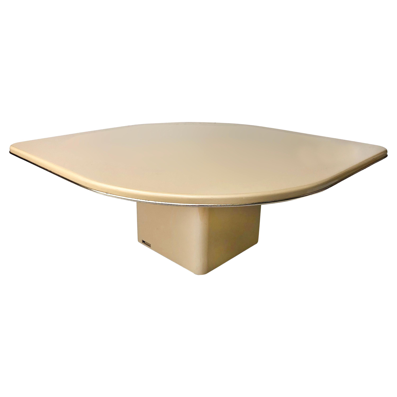 Vintage Postmodern Rougier Sculptural Coffee Table, 1980s