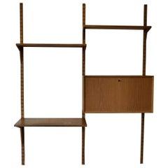 Vintage Poul Cadovius Oak Wall-Unit System