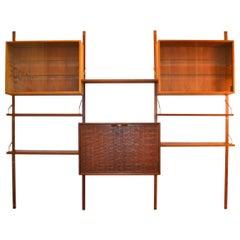 Vintage Poul Cadovius Teak Wall-Unit System