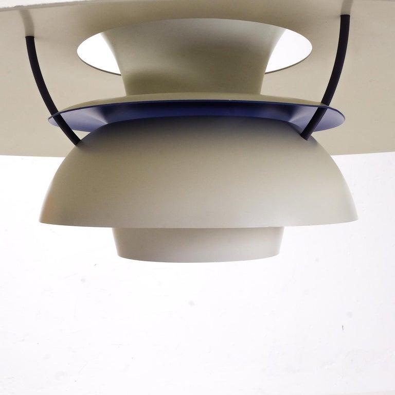 Danish Vintage Poul Henningsen PH5 Pendant Lamp For Sale