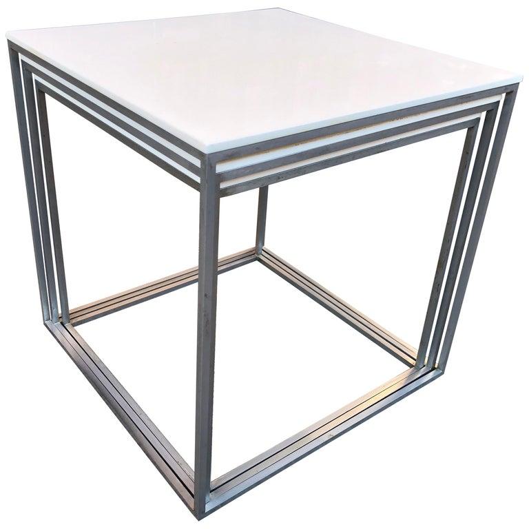 Vintage Poul Kjaerholm Nesting Tables For Sale