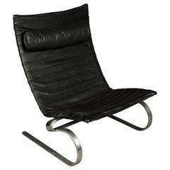 Vintage Poul Kjærholm PK20 Lounge Chair, Denmark, circa 1960