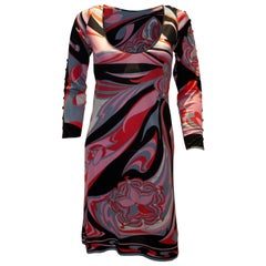Vintage Pucci Silk Jersey Dress