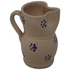 Vintage Puglia Apulia Italy Ceramic Pitcher