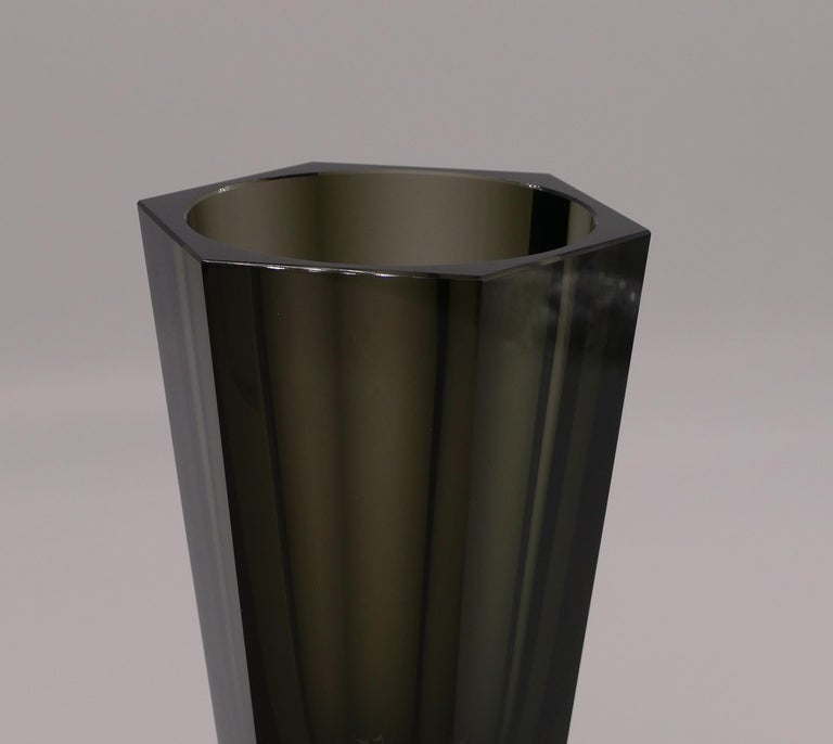Czech Vintage Purity Moser Vase, 1970s For Sale