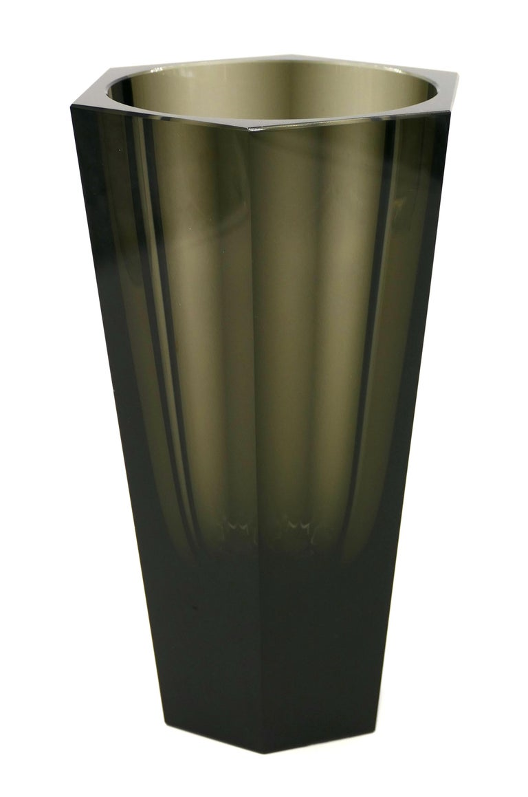 Vintage Purity Moser Vase, 1970s In Good Condition For Sale In Roma, IT