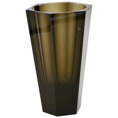 Vintage Purity Moser Vase, 1970s