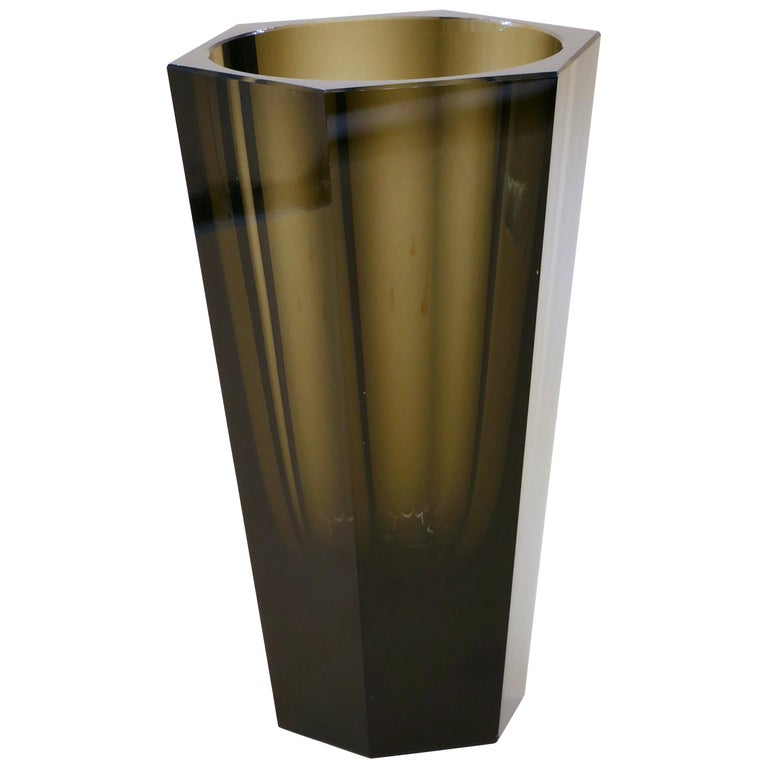 Vintage Purity Moser Vase, 1970s For Sale